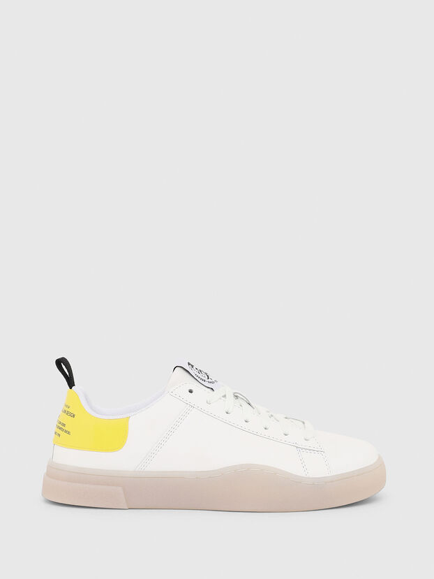 S-CLEVER LOW LACE W, Weiß/Gelb - Sneakers