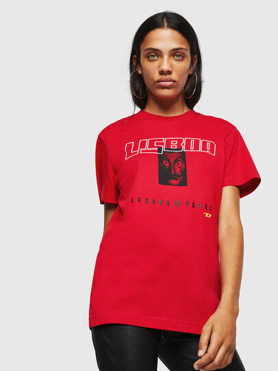 Diesel - LCP-T-DIEGO-LISBOA, Rot - T-Shirts - Image 2