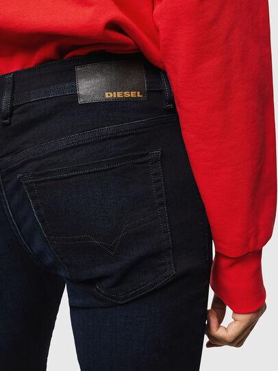 Diesel - Sleenker 0095X, Dunkelblau - Jeans - Image 4