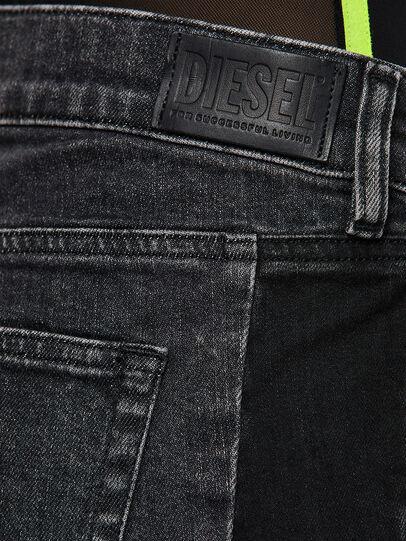 Diesel - D-Ebbey 009IM, Schwarz/Dunkelgrau - Jeans - Image 4