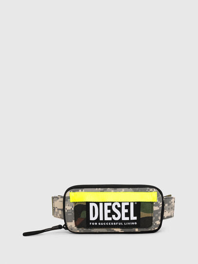 Diesel - BELT RUBBER CASE BIG, Camouflagegrün - Continental Portemonnaies - Image 1