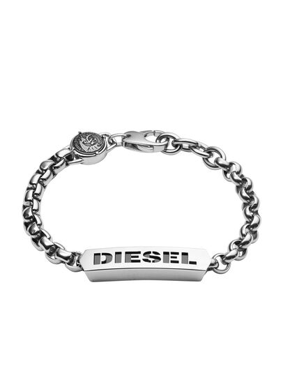 Diesel - BRACELET DX0993, Silber - Armbänder - Image 1