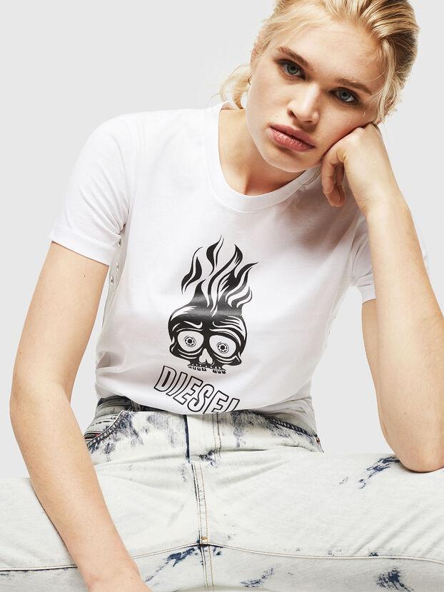 T-SILY-WQ, Weiß - T-Shirts