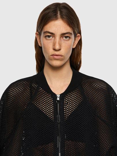 Diesel - M-INDYANA, Black - Knitwear - Image 3