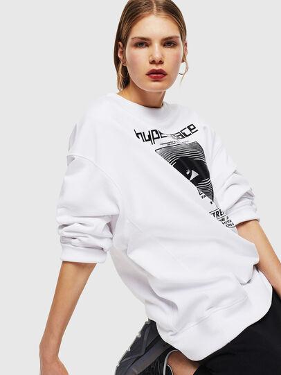 Diesel - F-AKUA, Weiß - Sweatshirts - Image 5