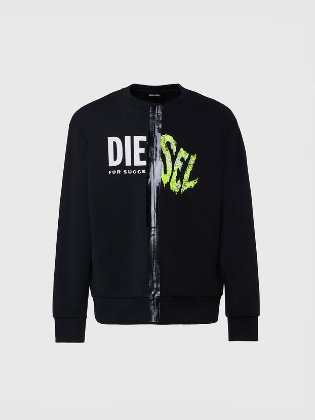 S-BIAY-SPLIT, Schwarz - Sweatshirts