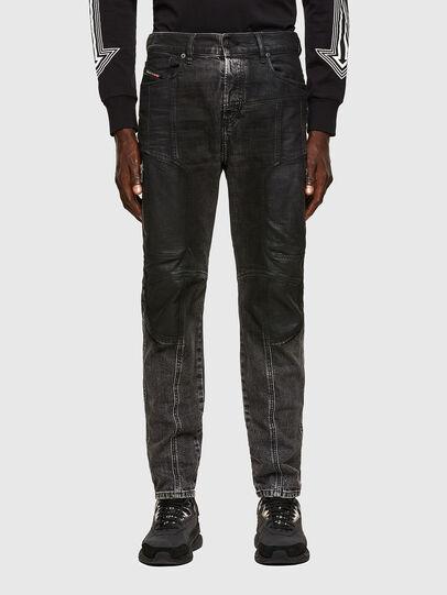 Diesel - D-Vider 009QZ, Noir/Gris foncé - Jeans - Image 1