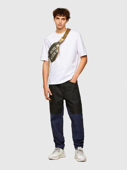 Diesel - T-GORAN-A1, Bianco - T-Shirts - Image 4