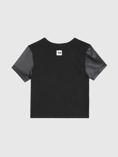 Diesel - UFTEE-ROUNDIE-SAT, Noir - T-Shirts - Image 2