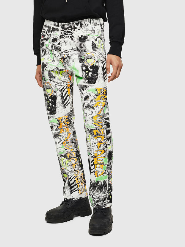 D-Macs 069KS, Weiß - Jeans