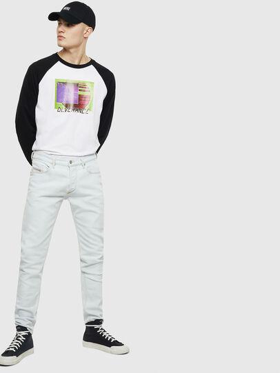 Diesel - T-RODDI, Weiß/Schwarz - T-Shirts - Image 5