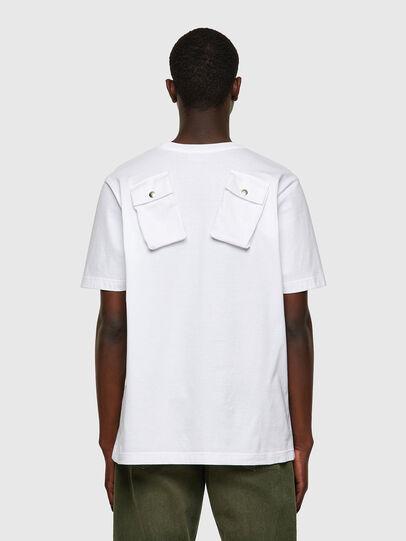 Diesel - T-JUSPOCK, Bianco - T-Shirts - Image 2