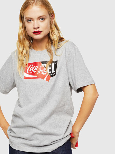 Diesel - CC-T-JUST-COLA, Grau - T-Shirts - Image 2