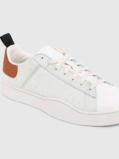 Diesel - S-CLEVER LOW LACE, Weiß/Braun - Sneakers - Image 5