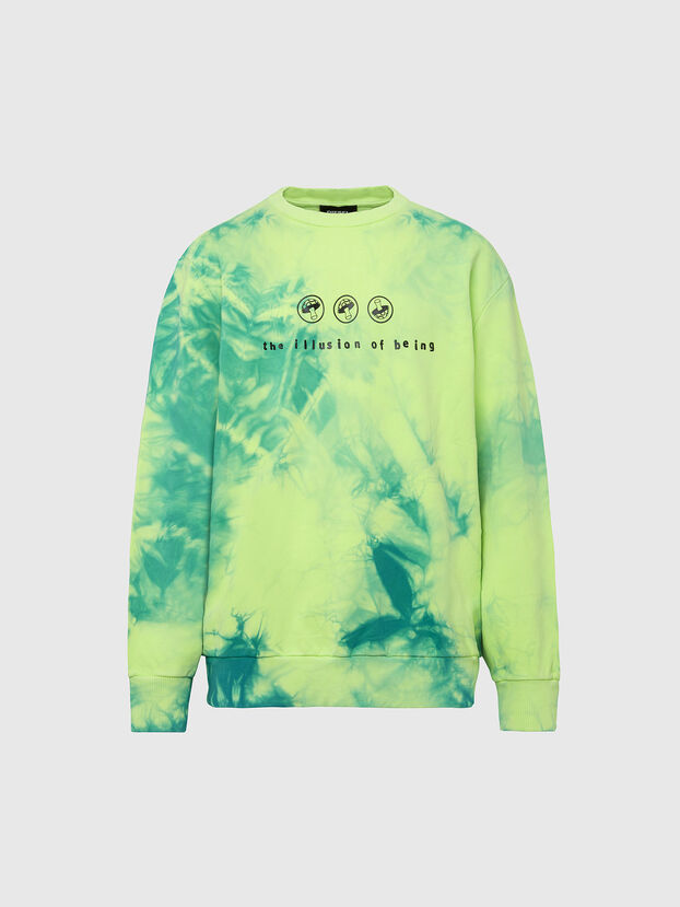 S-BIAY-X10, Grün/Gelb - Sweatshirts