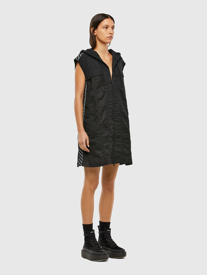 Diesel - D-JANA JOGGJEANS, Black/Dark grey - Dresses - Image 5
