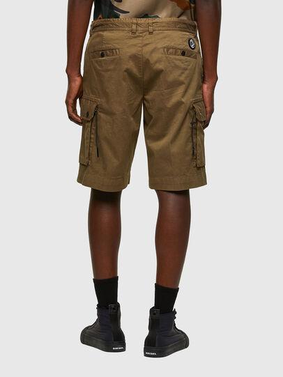 Diesel - P-APE, Vert Militaire - Shorts - Image 2