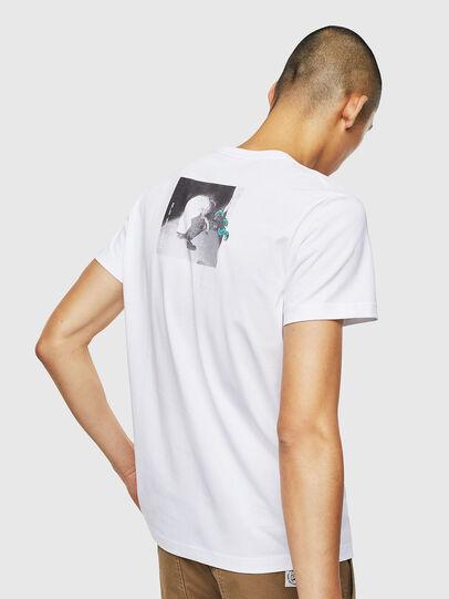 Diesel - T-DIEGO-J20, Weiß - T-Shirts - Image 3
