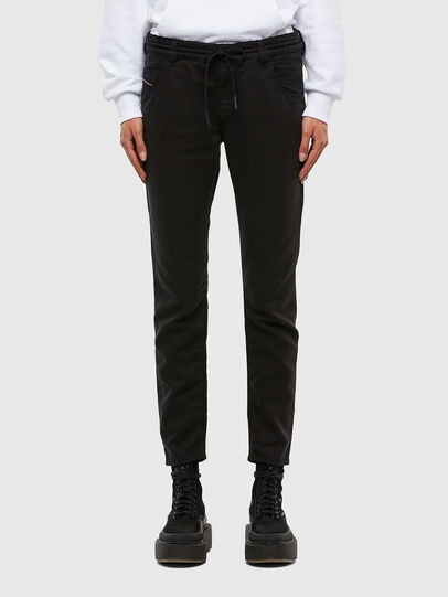 Diesel - KRAILEY JoggJeans® 069NC, Schwarz/Dunkelgrau - Jeans - Image 1