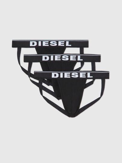 Diesel - UMBR-JOCKYTHREEPACK, Nero - Jockstrap - Image 1