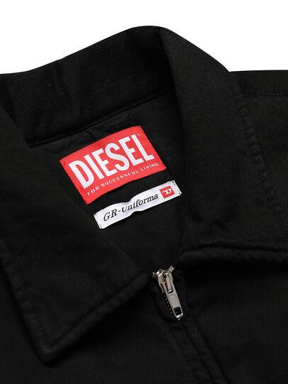 Diesel - GR02-J301, Schwarz - Denim jacken - Image 3