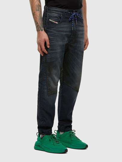 Diesel - D-Skint JoggJeans® 069PE, Dunkelblau - Jeans - Image 6