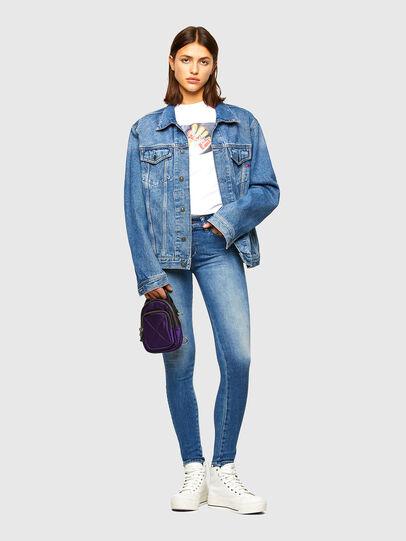 Diesel - Slandy 009QS, Blu Chiaro - Jeans - Image 5