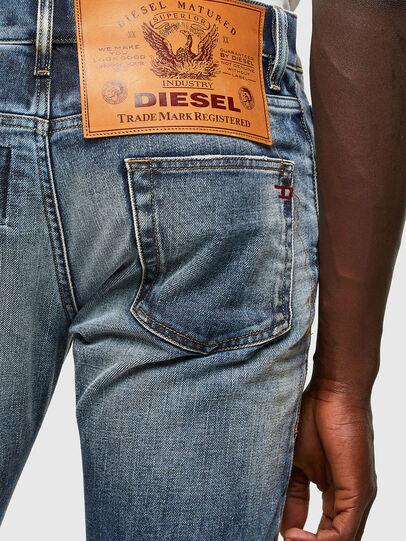 Diesel - D-Strukt 009NI, Mittelblau - Jeans - Image 5