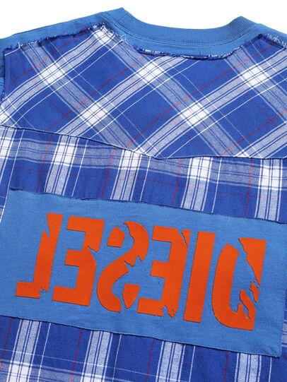 Diesel - D-WESTERNSPORT, Hellblau - T-Shirts - Image 5