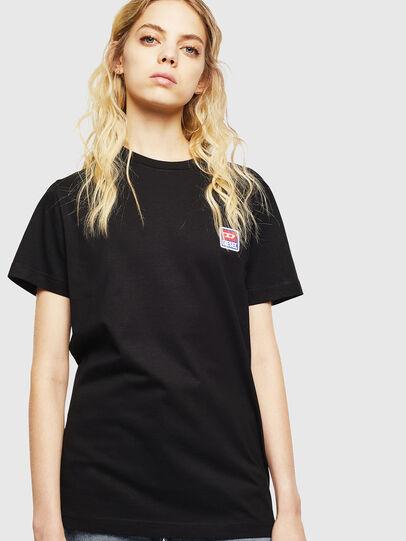 Diesel - T-DIEGO-DIV, Schwarz - T-Shirts - Image 2