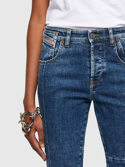 Diesel - Babhila 009VC, Blu medio - Jeans - Image 3