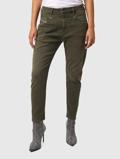 Diesel - Fayza JoggJeans® Z670M, Vert Militaire - Jeans - Image 1