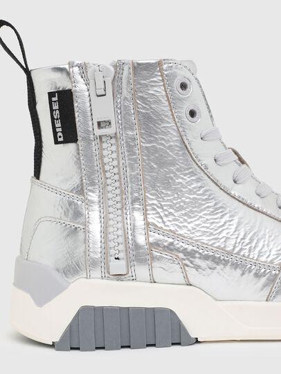 Diesel - S-RUA MC W, Silber - Sneakers - Image 4