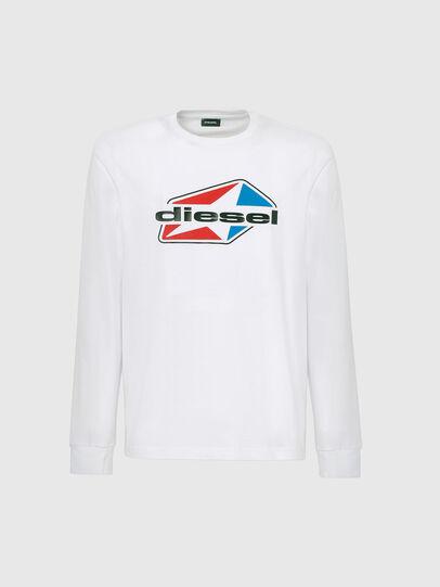 Diesel - T-DIEGOS-LS-K41, Weiß - T-Shirts - Image 4
