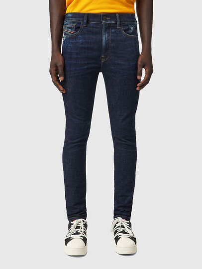 Diesel - D-Amny 09A84, Dark Blue - Jeans - Image 1
