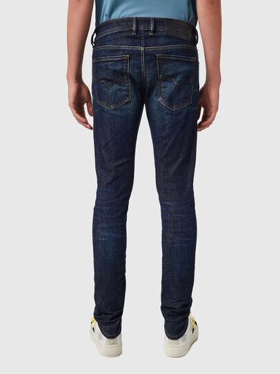 Diesel - Sleenker 09B07, Bleu Foncé - Jeans - Image 2