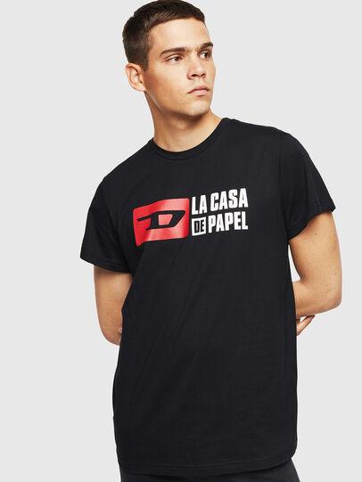 Diesel - LCP-T-DIEGO-CASA, Schwarz - T-Shirts - Image 1