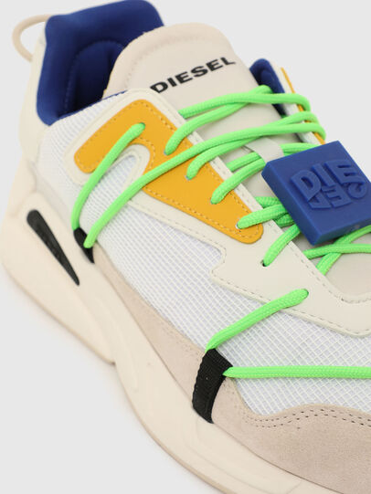 Diesel - S-SERENDIPITY LACE, Bianco/Rosa - Sneakers - Image 4
