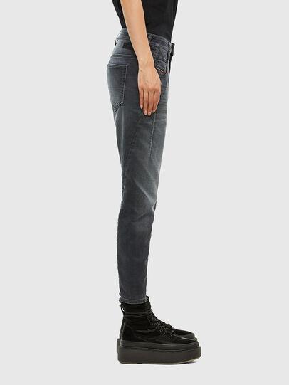 Diesel - FAYZA JoggJeans® 069QA, Schwarz/Dunkelgrau - Jeans - Image 3