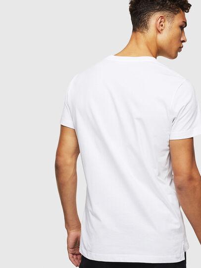 Diesel - T-RUBIN-POCKET-J1, Weiß - T-Shirts - Image 2