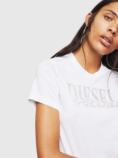 Diesel - T-SILY-WN, Weiß - T-Shirts - Image 3