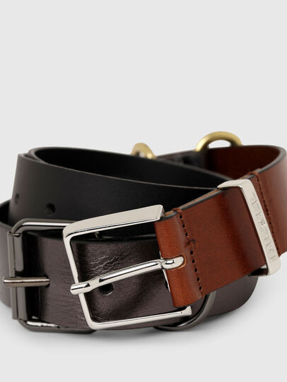 Diesel - B-TRIPLA, Brown/Black - Belts - Image 2