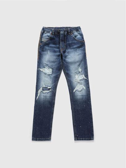 Diesel - KROOLEY-NE-J, Mittelblau - Jeans - Image 1