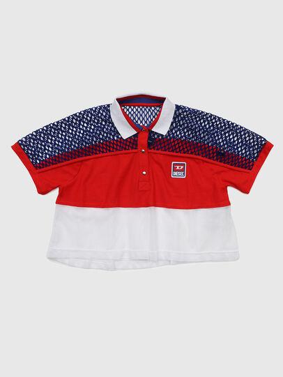 Diesel - TVAITEA, Rot/Weiß - T-Shirts und Tops - Image 1
