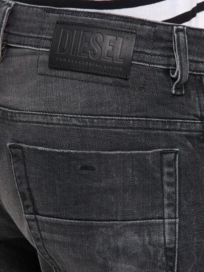 Diesel - Thommer 009IU, Schwarz/Dunkelgrau - Jeans - Image 4