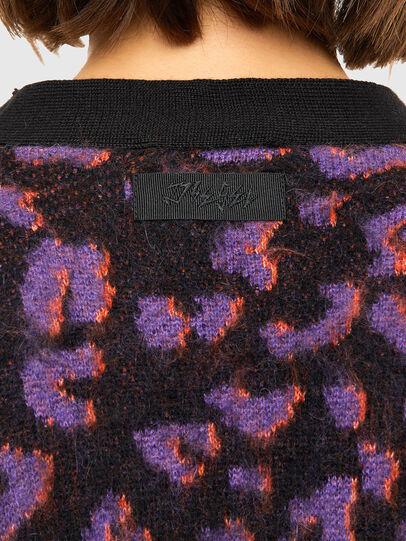 Diesel - M-REBECCA, Violet/Noir - Pull Maille - Image 4