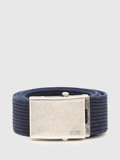 Diesel - B-COMBA, Bleu - Ceintures - Image 1