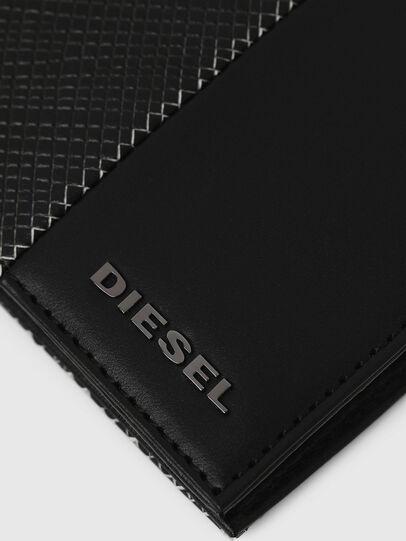 Diesel - HIRESH S, Schwarz/Weiß - Kleine Portemonnaies - Image 4