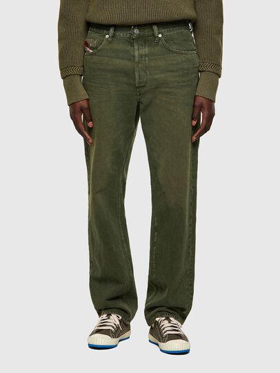 Diesel - D-Macs 09A35, Vert - Jeans - Image 1