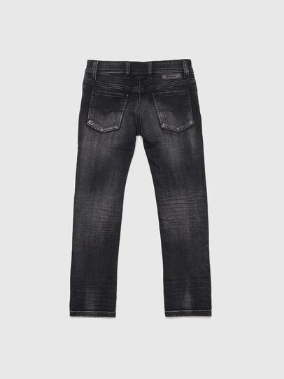 Diesel - SLEENKER-J JOGGJEANS-N, Nero/Grigio scuro - Jeans - Image 2